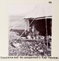 Fotografi från tältläger i Hauwar - Hallwylska museet - 104222.tif