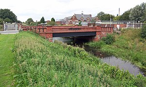 Beverley and Barmston Drain - The Grade II Listed bridge over the drain at Lockwood Street