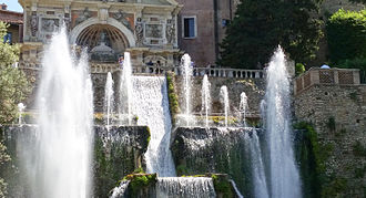 Pirro Ligorio - Fountains at the Villa d'Este in Tivoli
