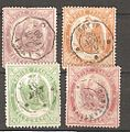 Four telegraph stamps of France.jpg