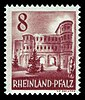 Fr. Zone Rheinland-Pfalz 1948 36 Porta Nigra, Trier.jpg