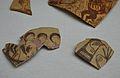 Fragments de ceràmica amb decoració figurada, Edeta (Llíria), Museu de Prehistòria de València.JPG
