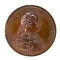 Framsida av medalj med Gustav III i profil, 1792 - Skoklosters slott - 99252.tif