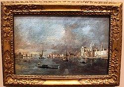 Francesco Guardi: View of the Giudecca with the Zattere