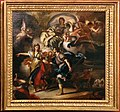 Francesco solimena, bozzetto per enea e didone verso la grotta, 1700-40 ca.jpg