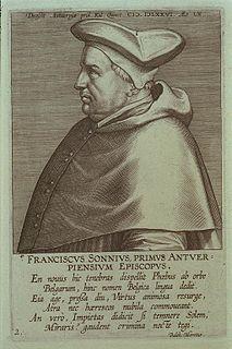 Franciscus Sonnius Dutch theologian