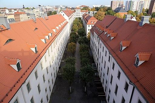 Franckesche Stiftungen Innenhof 2015 - 2