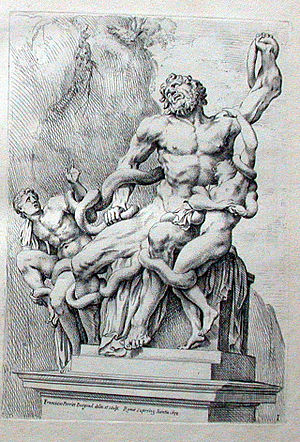 François Perrier (painter) - Laocoon group.