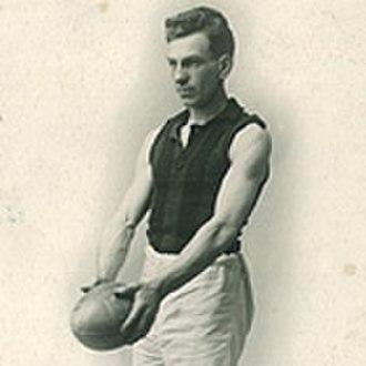 1932 VFL season - Richmond coach Frank 'Checker' Hughes