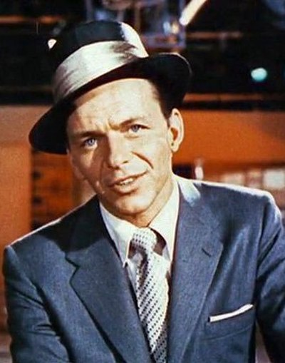Picture of a band or musician: Frank Sinatra