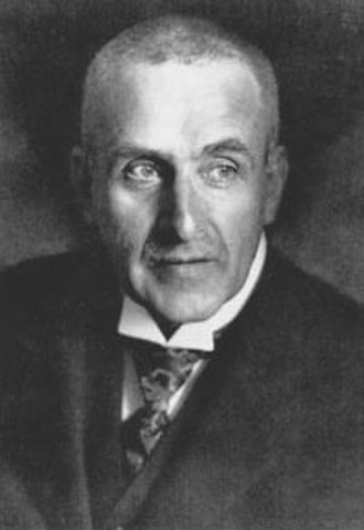 Frank Wedekind - Wedekind in later life