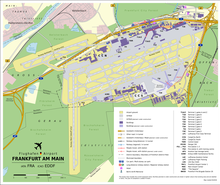 Airport Map With Planned And Already Constructed Expansions