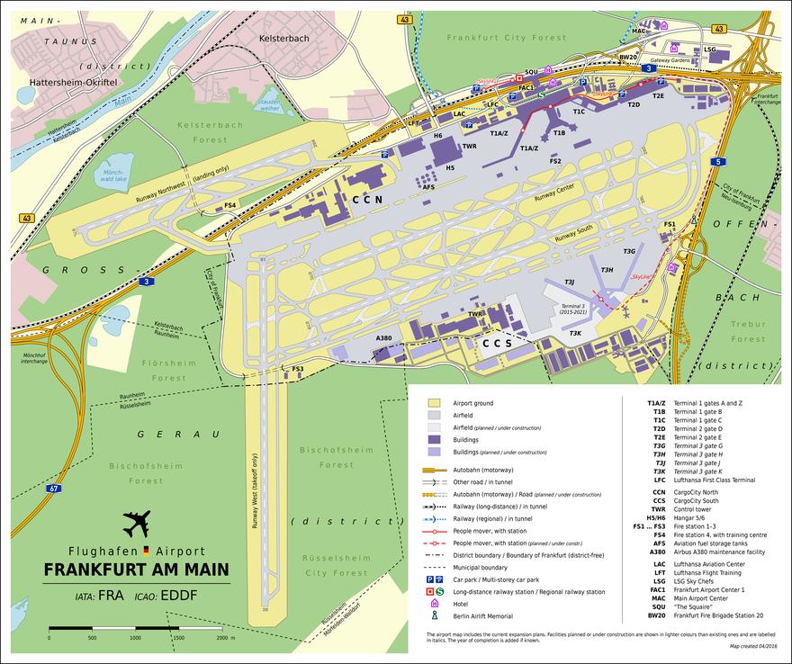 frankfurt airport parking long term