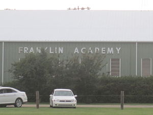 Winnsboro, Louisiana - Franklin Academy in Winnsboro
