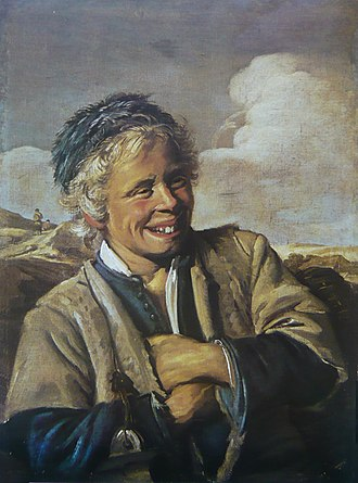 Laughing Fisherboy - Laughing Fisherboy, c.1628 Oil on canvas, 82 x 60.2 cm