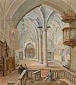 Franz Kurz zum Thurn und Goldenstein - Notranjščina cerkve svetega Primoža nad Kamnikom.jpg