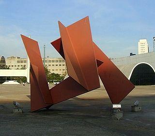 Franz Weissmann Austrian sculptor and painter, active in Brazil
