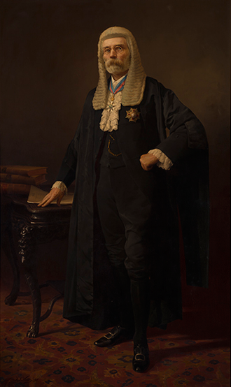 Frederick Holder - Parliament House portrait of Holder by George A. J. Webb, 1916