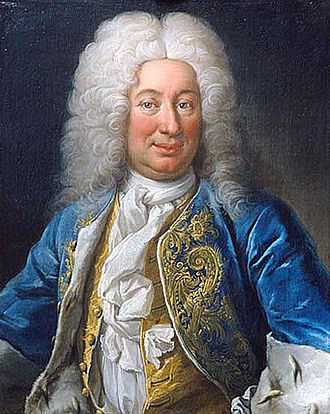 Frederick I of Sweden - Portrait by Martin van Meytens.