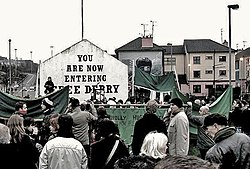 Free Derry Bloody Sunday memorial march