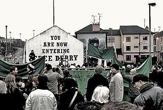 Bloody Sunday (1972) - The 35th Bloody Sunday memorial march in Derry, 28 January 2007