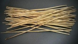 I Ching divination - Yarrow Stalks prepared for regular usage