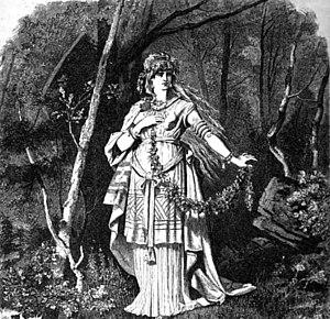 Freyja - Freya (1882) by Carl Emil Doepler