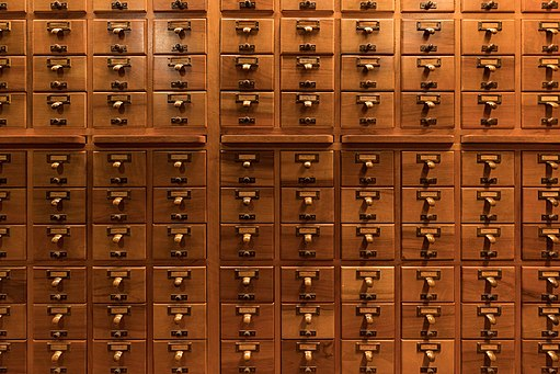Frick Art Reference Library Card Catalog