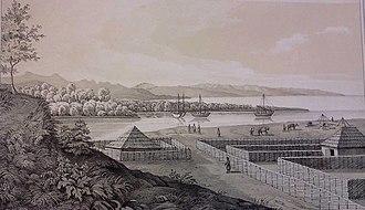 Shekvetili - The Shekvetili Fort in the early 19th century.