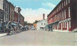 Waldoboro, Maine - Friendship Street c. 1920