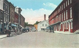 Waldoboro, Maine - Friendship Street c. 1920