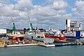 Frigate Absalon and other Vessels at Orskov Yard, Frederikshavn.jpg