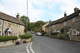 Froggatt, Derbyshire Village and civil parish in Derbyshire, England
