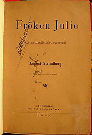 fröken julie strindberg
