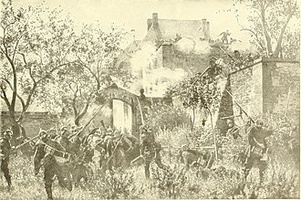 Battle of Wissembourg (1870) - Storming of the Geissburg