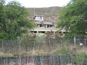 Fort Ruger - Image: Ft Ruger outside slope bunker