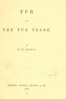 Fur and the Fur Trade.djvu