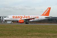 G-EZIT - A319 - EasyJet