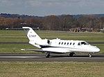 G-TWOP Cessna Citation CJ2 Centreline Air Charter Ltd (25236837222).jpg