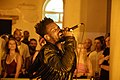 GAIKA performing at Somerset House August 2018 03.jpg