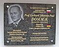GJP Domagk tablica Łagów.jpg