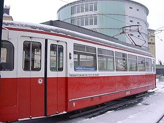 Gmunden Tramway - Image: GM9