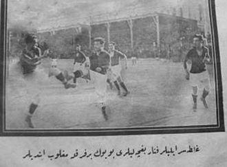 1926–27 Galatasaray S.K. season - Galatasaray 5 - Fenerbahçe 1