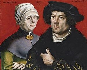 Portrait de couple marié