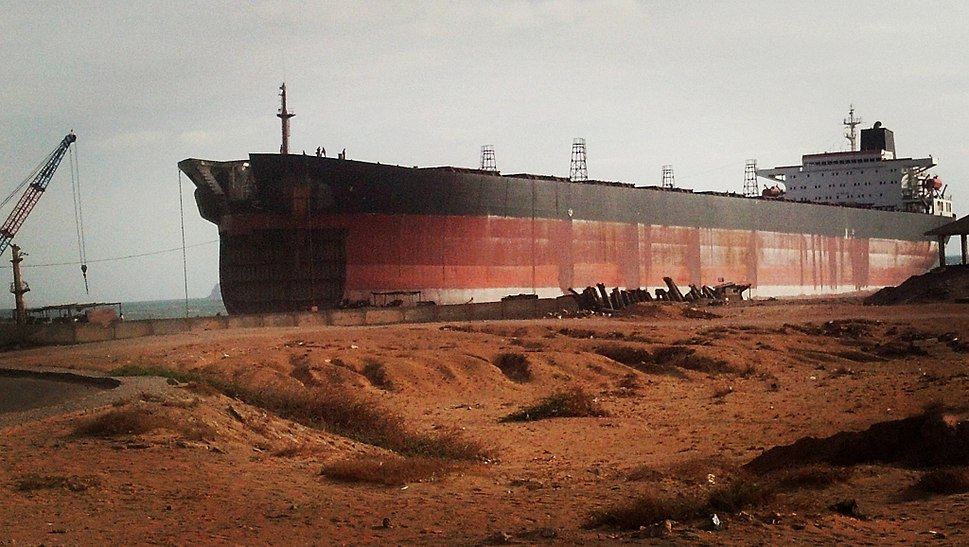Gadani ship breaking (2016)