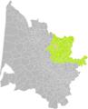 Galgon (Gironde) dans son Arrondissement.png