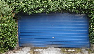 Garage (residential) - Up-and-over garage door