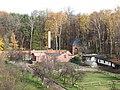 Garden of the Franciscan monastery in Katowice Panewniki 2012 XI d.JPG