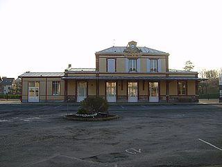 Gare de Houlgate railway station in Houlgate, France