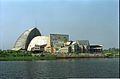 Gate Complex And Convention Centre Complex Under Construction - Science City - Calcutta 1996-02-21 991.JPG